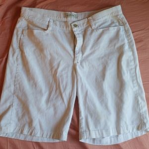 Rider Womens Shorts- White